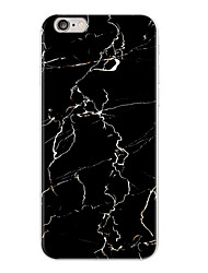 cheap -Granite Scrub Black Marble Phone Case Soft TPU Funda Case for iphone 5 5s SE 6 6s 6Plus Case