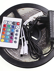 cheap -SENCART 5m RGB Controllers 300 LEDs 5630 SMD RGB Remote Control / RC / Cuttable / Waterproof 100-240 V / Linkable / Suitable for Vehicles / Self-adhesive / Color-Changing