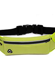 cheap -Unisex Bags Nylon Waist/Fanny Bag for Casual Sports Outdoor Fall Black Fuchsia Green Blue