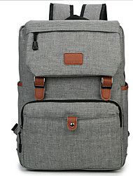 cheap -Men's Bags Canvas Laptop Bag Buttons Black / Gray / Blue