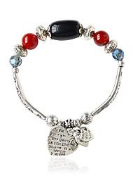 cheap -Women's Chain Bracelet - Bohemian Oval Black Yellow Bracelet For