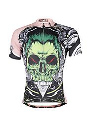 Недорогие -ILPALADINO Муж. С короткими рукавами Велокофты Велоспорт Джерси, Быстровысыхающий, Ультрафиолетовая устойчивость, Дышащий