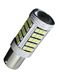 2X White 1156 G18 Ba15s 63 SMD 2835 LED Turn Signal Rear Light Bulb Lamp D091 DC12-24V