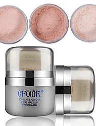 cheap -3 Face High Quality Combination Dry Normal Oily Loose powder Daily