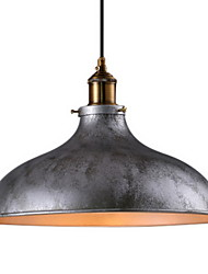 cheap -Pendant Light Uplight - Mini Style, Rustic / Lodge Vintage, 110-120V 220-240V Bulb Not Included