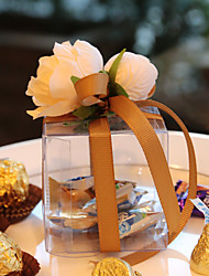 cheap -Cubic Plastic Favor Holder With Favor Boxes-1 Wedding Favors Beautiful