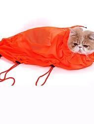 baratos -Gato Cachorro Limpeza Banhos Animais de Estimação Artigos para Banho & Tosa Portátil Casual Laranja Cinzento Azul Rosa claro