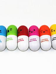 Недорогие -(30 шт) способа высокого качества симпатичный выдвижные шариковая ручка таблетки стиль игрушка