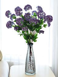 1 1 Une succursale Plastique Hortensias Arbre de Noël Fleurs artificielles 33.4inch/85cm