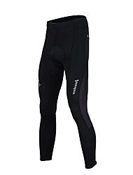 cheap -TASDAN Men's Cycling Tights Bike Tights / Bottoms 3D Pad, Quick Dry, Breathable Solid Colored Black Bike Wear / Reflective Strips
