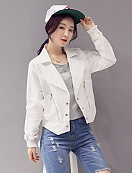 cheap -Women's Casual/Daily Casual Spring / Fall Jackets