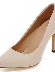 economico -Da donna-Tacchi-Ufficio e lavoro Formale Casual-Decolleté-A stiletto-Vernice Finta pelle-Nero Marrone Viola Rosso Beige Pesca