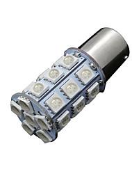 Недорогие -10x ультра синий 1156 BA15S 27smd 5050 лампочку нас резервного копирования хвост на колесах 7506 тысяча сто сорок одна