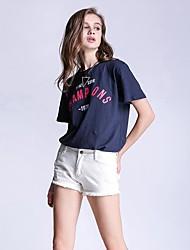 Знак джинсы шорты большой размер женщин в Европе и Америке ebay amazon aliexpress торговля брюки отверстие