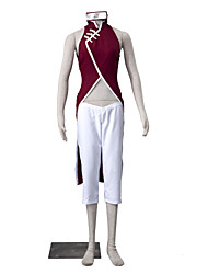 cheap -Inspired by Naruto Sakura Kasugano Anime Cosplay Costumes Cosplay Suits Solid Colored Sleeveless Pants Cheongsam For Women's