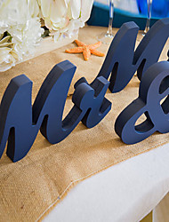 cheap -Wooden MR & MRS wedding supplies Wooden furnishing articles in English letters Wedding photography props