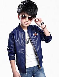 cheap -Boy's Cotton Jacket & Coat,All Seasons / Spring / Fall Color Block