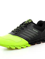 cheap -Men's Sneakers Spring / Fall Comfort Tulle Casual Flat Heel  Blue / Green / Orange Walking