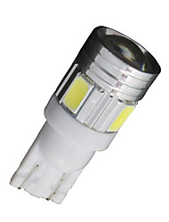 20X Xenon White T10 Side Wedge SAMSUNG 5630 6SMD LED License Map Light W5W 2825