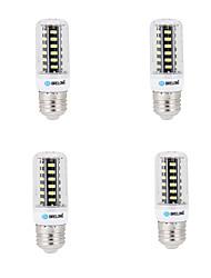 economico -BRELONG® 4pcs 4W 400lm E14 G9 GU10 E26 B22 LED a pannocchia B 42 Perline LED SMD 5733 Decorativo Bianco caldo Luce fredda 200-240V