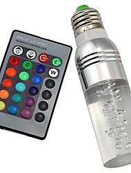 B22 E26/E27 LED Smart Bulbs T 1 High Power LED 100-200 lm RGB 2000-5000 K Remote-Controlled AC 85-265 V