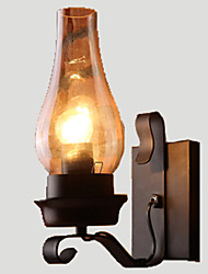 cheap -Lightinthebox Rustic / Lodge / Vintage / Retro Wall Lamps & Sconces Metal Wall Light 110-120V / 220-240V 60W