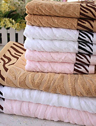 Tiger Stripes Bamboo Fiber Ultra Soft Water Bath Towel