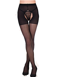 cheap -Women's Thin Sexy Pantyhose - Solid Colored, Mesh