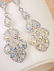 cheap -Women's Luxury European Fashion Statement Jewelry Bridal Rhinestone Imitation Diamond Others Drop Jewelry Wedding Daily Casual