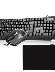 V-OX USB 1600 DPI Games Conjuntos de Teclado e MouseWithUSB