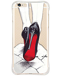 cheap -Shockproof/Pattern Sexy Lady High-heeled Shoes TPU Soft Case For Apple iPhone 6s Plus/6 Plus/iPhone 6s/6/iPhone SE/5s/5