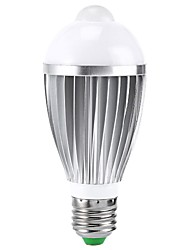 E26/E27 B22 LED Smart Bulbs A50 1 High Power LED 400-550 lm RGB 2000-3500 K Sensor Infrared Sensor AC 85-265 V