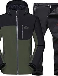Unisex Giacca da escursione Tenere al caldo Traspirante Set di vestiti per Campeggio e hiking Attività ricreative Inverno Autunno XL XXL