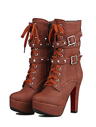 cheap -Women's Boots Spring / Fall / Winter Fashion Boots 16 Europe and the United States and sexy fashionof skin short boots