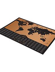 Недорогие -Пазлы 3D пазлы Строительные блоки DIY игрушки Бумага черный увядает Игра Игрушка