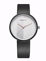 levne -REBIRTH Pánské Křemenný Unikátní Creative hodinky Náramkové hodinky / Hodinky na běžné nošení PU Kapela Na běžné nošení Minimalistické