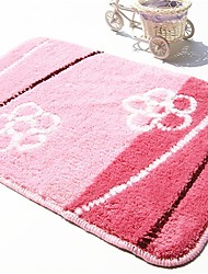 """cheap -Country Style 1PC Polypropylene  Bath Rug 15"""" by 23"""" Floral Pattern"""