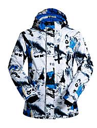Abbigliamento da neve Giacche da sci/snowboard Per uomo Abbigliamento invernale Cotone / Tessuto sintetico Sportivo Vestiti invernali