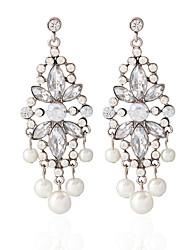 billige -Dame - Perle Mode Sølv Til Fest