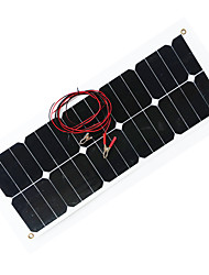 cheap -ZDM® 30W 12V Output 1.6A Monocrystalline Silicon Solar Panel(DC12-18V)