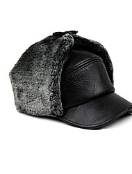 cheap -Fur Hat Ski Hat Men's Thermal / Warm Snowboard Polyester Winter Sports Winter