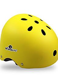 baratos -KUYOU Capacete de Skate Adulto Capacete CE Certificado Esportivo Jovem para Ciclismo / Moto Skate Patins em Linha Preto Laranja Amarelo