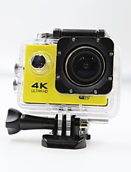 cheap -Sports Action Camera 4K  WIFI Waterproof 12MP High Defenition 2.0 Inch Sports DV 170 Degree  Yellow