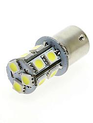 10pcs 13SMD 1156 5050 colore bianco ha portato freno lampade lampadina degli indicatori di coda posteriore per il parcheggio turno
