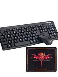 Kabellos USB Tastatur & MausForWindows 2000/XP/Vista/7/Mac OS / Android OS / Symbian S60 Smartphone / iPad 4