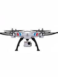 baratos -RC Drone SYMA X8G 4CH 6 Eixos 2.4G Com Câmera HD Quadcópero com CR Modo Espelho Inteligente Vôo Invertido 360° Flutuar Com Câmera