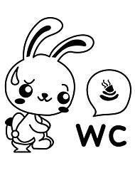 Недорогие -Мода Наклейки Простые наклейки Декоративные наклейки на стены / Наклейки для туалета,PVC материал Съемная Украшение дома Наклейка на стену