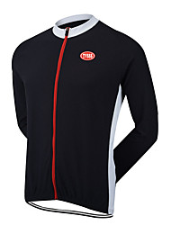 Sports Bike/Cycling Tops Men's Long Sleeve Breathable /Ultra Light Fabric / Thermal / Warm LYCRA® / Terylene