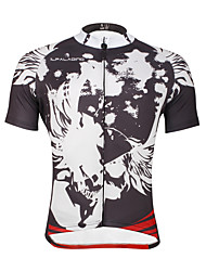 cheap -ILPALADINO Cycling Jersey Men's Short Sleeves Bike Top Quick Dry Ultraviolet Resistant Breathable Soft Compression Lightweight Materials