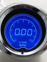 "cheap -2"" (52mm) LCD Digital 7 Color Display Tachometer RPM Gauge /AUTO GAUGE"